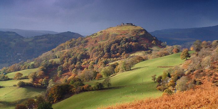 1260s AD - Dinas Bran – built by Princes of Powys