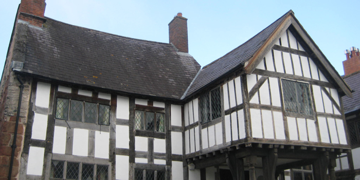 1435 AD - Nantclwyd y Dre, Ruthin – oldest timber town house in Wales