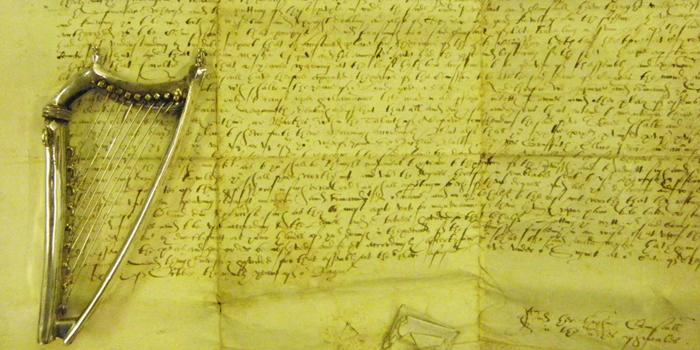 1568 AD – Caerwys Eisteddfod Harp and Commission