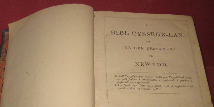 1588 AD - Translation of Bible into Welsh