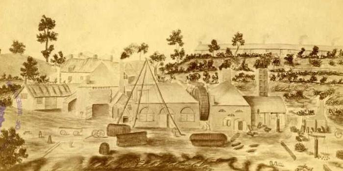 1770s AD – Industrial Age begins – Bersham Ironworks