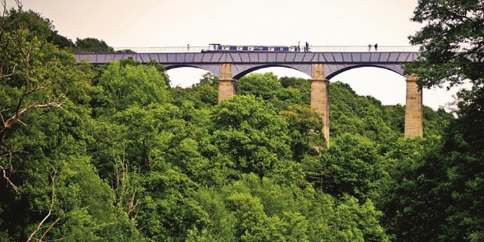 1805 AD – Canal system built – Pontycysyllte Aqueduct